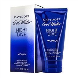 DAVIDOFF COOL WATER NIGHT DIVE LOCION CORPORAL 150ML por 19,24€ PORTES INCLUÍDOS