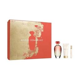 Conjunto de Perfume Mulher Unica Coral Adolfo Dominguez (3 pcs) por 67.32€ PORTES INCLUÍDOS