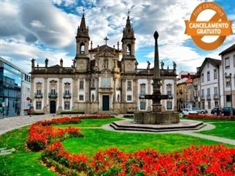 Flag Hotel Braga: 1 Noite com Pequeno-almoço desde 21.50€. Descubra o Melhor de Braga!