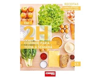 Em 2h cozinhe para toda a família: vitamine-se com sopa de alho-francês, reforce as energias com caril de camarão e prove croquetes de lentilhas.