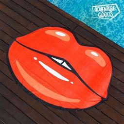 Toalha de Praia Beijo Adventure Goods por 14.52€ PORTES INCLUÍDOS