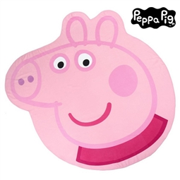 Toalha de Praia Peppa Pig 75510 Cor de rosa por 20.46€ PORTES INCLUÍDOS