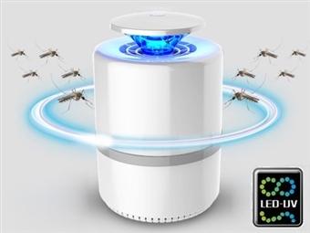 Lâmpada Mata Mosquitos 360º com Luz LED-UV por 17€. Inofensivo e Inodoro. ENVIO IMEDIATO. PORTES INCLUÍDOS.