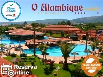Alambique de Ouro Hotel Resort 4*: Estadia na SERRA DA ESTRELA com Pequeno-almoço e Acesso ao Spa desde 39.50€.