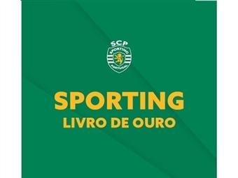 E-book Livro de Ouro do Sporting: faça uma viagem inesquecível pela história do seu clube. Conteúdo exclusivo para assinantes.