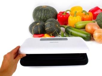 MÁQUINA DE EMBALAGEM A VÁCUO com 110W e Sistema Automático ou Manual por 50€. Conserve a Qualidade dos seus Alimentos! PORTES INCLUÍDOS.