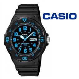 Relógio Casio® MRW-200H-2BVCF Azul por 36.30€ PORTES INCLUÍDOS
