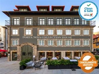 PORTA NOVA COLLECTION HOUSE: Estadia em Braga, junto à Sé, com Opção de Jantar e Pack Tradicional desde 40€. Venha Experimentar!