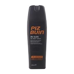 Spray Protetor Solar In Sun Piz Buin Spf 15 (200 ml) por 20.46€ PORTES INCLUÍDOS