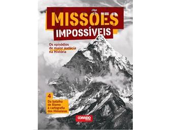 """Coleção Missões Impossíveis. E-book """"Da Batalha de Alamo à cartografia dos Himalaias""""."""