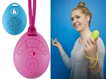 Coluna Bluetooth que Ajuda a Tirar Selfies, Atende Chamadas Mãos-Livres e tem 3 Cores à escolha desde 16€. PORTES INCLUIDOS.