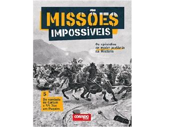 """Coleção Missões Impossíveis. E-book """"Do combate de Cartum a 55 dias em Pequim"""""""