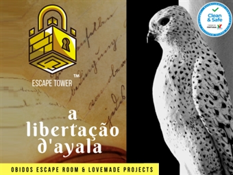 Escape Tower na Torre Medieval de Óbidos | Jogo de 1 Hora para 2 a 5 Pessoas em ÓBIDOS por 42€. Não Perca Tempo!