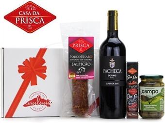Cabaz Twenties - The 2nd CASA da PRISCA Composto por 4 Deliciosos Ingredientes por 23€. PORTES INCLUÍDOS.