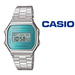 Relógio Casio® A168WEM-2EF por 54.78€ PORTES INCLUÍDOS