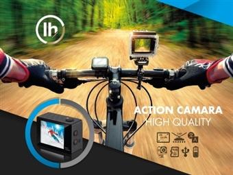 Câmara Desportiva HD com Acessórios por 16€. Resistente à água, para gravar todos os seus momentos de aventura e atividades. PORTES INCLUÍDOS.