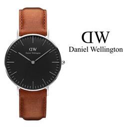Daniel Wellington® Relógio Classic Black Durham 36 mm - DW00100144 por 102.30€ PORTES INCLUÍDOS