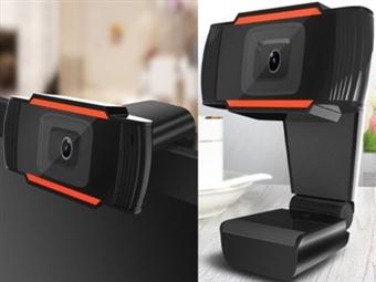 Webcam Full HD 1080P com Microfone para Computador ou Mesa por 17€. PORTES INCLUIDOS.