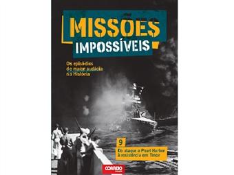 """Coleção Missões Impossíveis. E-book """"Do ataque a Pearl Harbor à Resistência em Timor"""""""
