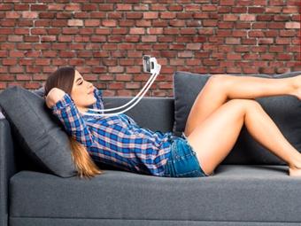 Suporte de Pescoço e Mesa para Smartphone e Tablet por 14€. ENVIO IMEDIATO. PORTES INCLUIDOS.