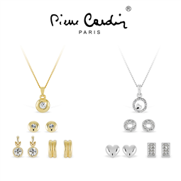 Conjunto Pierre Cardin® 3 Colares e 6 Pares de Brincos | PXX0191 por 24.42€ PORTES INCLUÍDOS