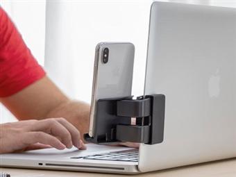 Suporte de Smartphone no Portátil ou de Tablet na Mesa desde 13€. VER VIDEO. PORTES INCLUÍDOS.