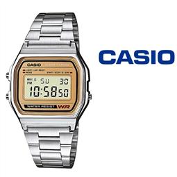 Relógio Casio® A158WEA-9EF por 46.86€ PORTES INCLUÍDOS