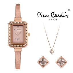 Conjunto Pierre Cardin® PCDX7902L3 | Relógio | Colar | Par de Brincos por 56.76€ PORTES INCLUÍDOS