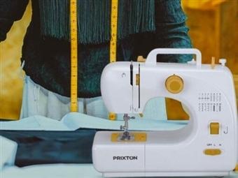Máquina de Costura Portátil de 16 Pontos com Velocidade Dupla, Pedal e Gaveta para Armazenamento por 74€. Aperfeiçoe os seus Dotes! PORTES INCLUÍDOS.