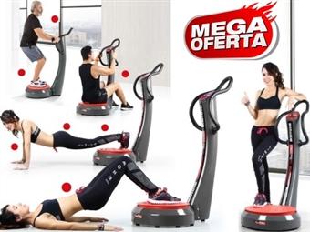 MEGA OFERTA: Plataforma Vibratória com Painel de Controle por 115€. Fique em forma sem sair de casa. PORTES INCLUIDOS.