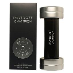 DAVIDOFF CHAMPION MEN EAU DE TOILETTE 90ML VAPORIZADOR por 32,68€ PORTES INCLUÍDOS