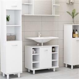 Armário de casa de banho 60x32x53,5 cm contraplacado branco por 130.02€ PORTES INCLUÍDOS