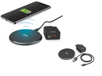 KIT Carregador QI Sem Fios de Smartphone por 18€. Velocidade e Qualidade de Carregamento. PORTES INCLUÍDOS.