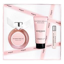 Conjunto de Perfume Mulher Mademoiselle Rochas Rochas EDP (3 pcs) por 83.82€ PORTES INCLUÍDOS