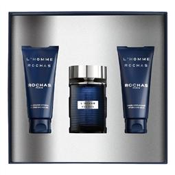 Conjunto de Perfume Homem L'Homme  Rochas EDT (3 pcs) por 65.34€ PORTES INCLUÍDOS