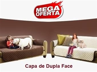 MEGA OFERTA: Capa de Dupla Face para Sofá ou Poltrona (Castanho e Bege) desde 14€. Ideal para quem tem Crianças e ou Animais. PORTES INCLUÍDOS.