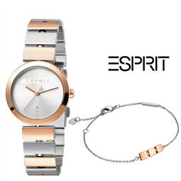 Esprit® Conjunto Relógio + Pulseira ES1L079M0055 por 108.90€ PORTES INCLUÍDOS