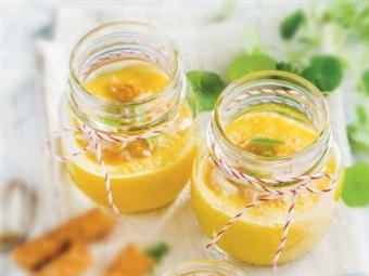 Coleção Receitas Facílimo: Sopa fria de meloa. Faça download da receita em eBook e áudio.