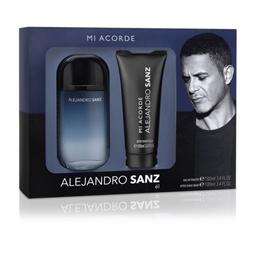 Conjunto de Perfume Homem Mi Acorde Alejandro Sanz EDT (2 pcs) por 22.44€ PORTES INCLUÍDOS