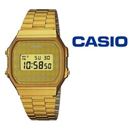 Relógio Casio® A168WG-9BWEF por 60.06€ PORTES INCLUÍDOS