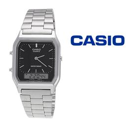 Relógio Casio® AQ-230A-1DMQ por 69.30€ PORTES INCLUÍDOS