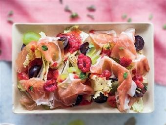 Coleção Receitas Facílimo: Salada de presunto com uvas. Faça já download do eBook e áudio.