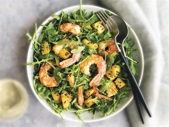 Coleção Receitas Facílimo: Salada com camarão e ananás. Faça já download do eBook e áudio.