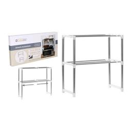 Prateleira Microwave Confortime Ajustável (24,5 x 62,5 x 47,6-80 cm) por 25.08€ PORTES INCLUÍDOS