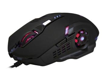 Rato Ótico Gaming Pro Ergonómico com Luzes LED e 6 Botões por 21€. Desfrute dos seus jogos como um Profissional! PORTES INCLUÍDOS.