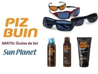 Protectores Solares PIZ BUIN + OFERTA de Óculos de Sol SUN PLANET desde 9€. PORTES INCLUÍDOS. ENVIO IMEDIATO!