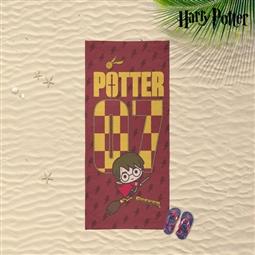 Toalha de Praia Harry Potter Vermelho (70 x 140 cm) por 16.50€ PORTES INCLUÍDOS