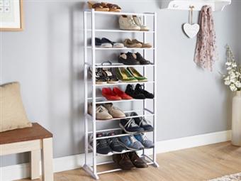 Sapateira que pode conter até 30 Pares de Sapatos desde 12.50€. A solução ideal para sua casa. PORTES INCLUIDOS.