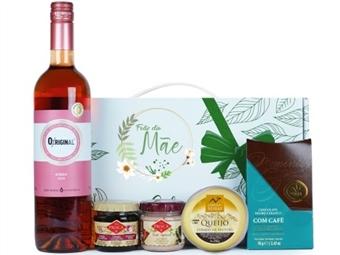 DIA DA MÃE - CABAZ MÃE ALEGRIA da Casa da Prisca: Caixa Sabores de Excelência com Laço Verde composta por 6 Deliciosos Produtos por 28€. PORTES INCLUÍDOS.