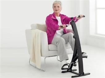 Bicicleta de Pernas e Braços por 71€. Cuide dos seus músculos e articulações sem forçá-los. PORTES INCLUÍDOS.